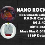 ボールレポート NANO ROCK(ナノロック)